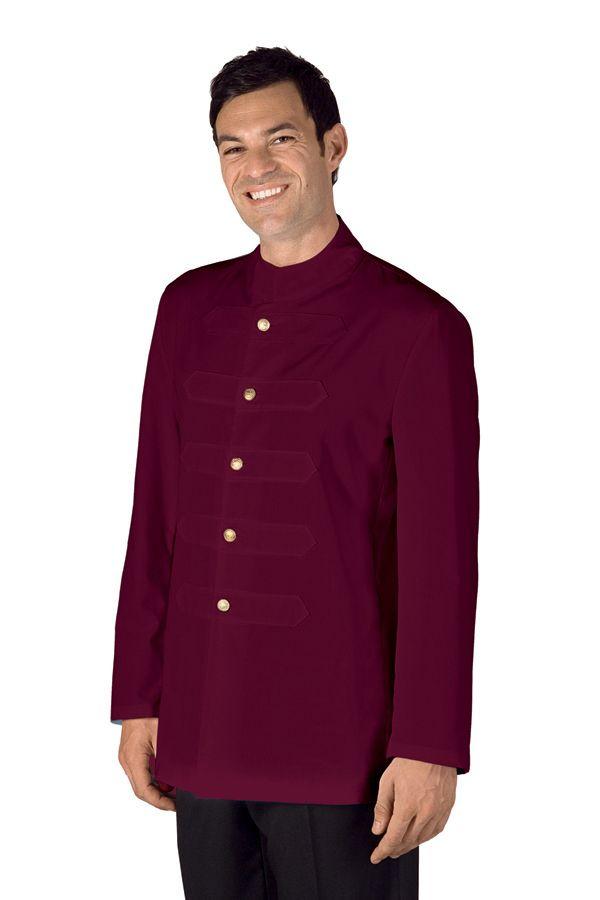 casacca coreana con alamari bianco isacco ad abiti da lavoro roma